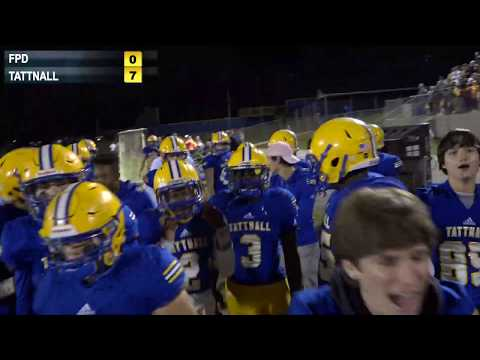 FPD Vikings Vs. Tattnall Trojans Football - LIVE - 11/1/2019