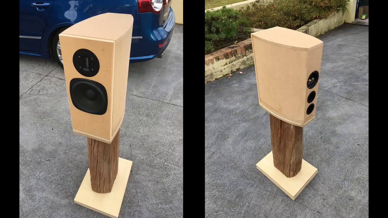 DIY Bookshelf Speakers