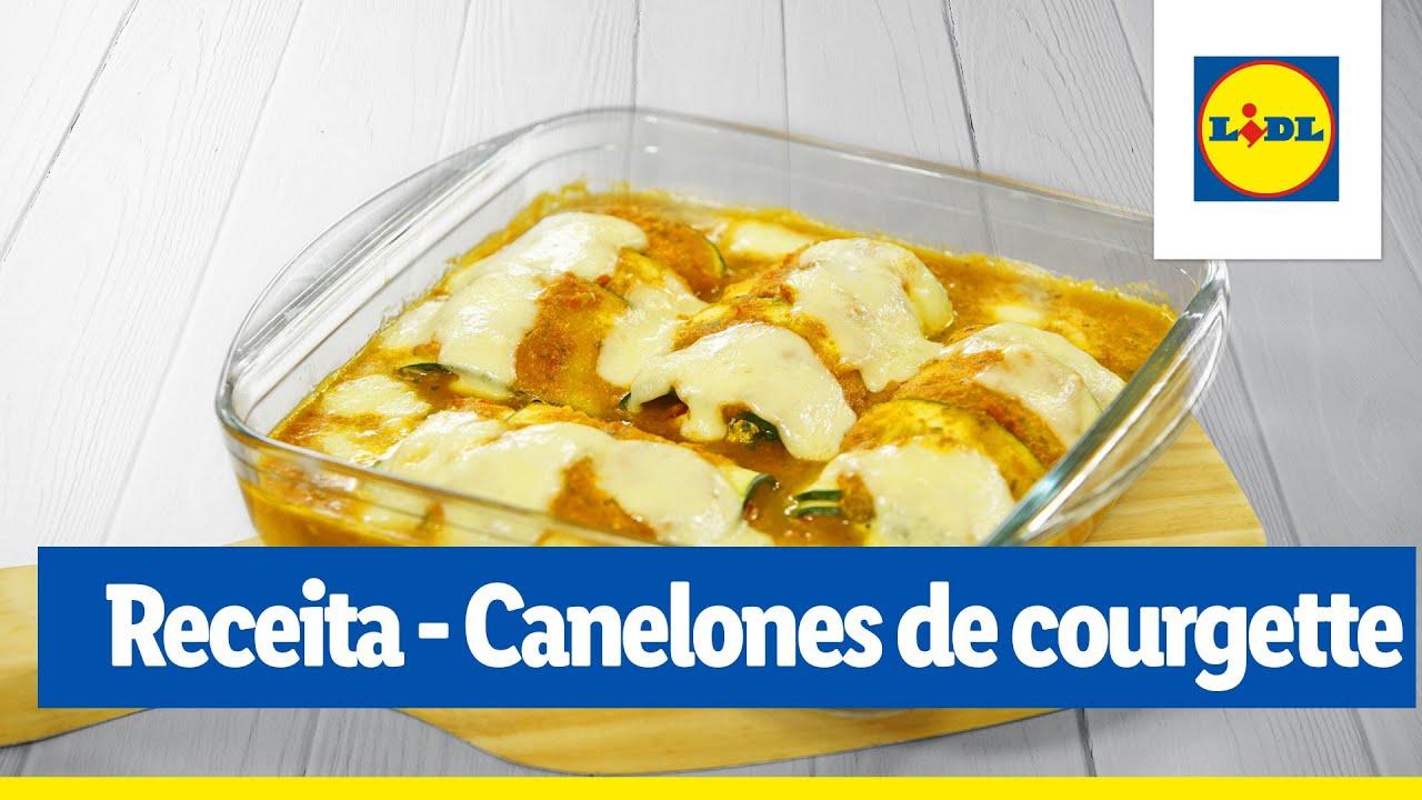 Receita veggie - Canelones de courgette com requeijão | Cooking Classes | Lidl Portugal