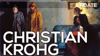 Christian Krohg: A collection of 158 works (HD)
