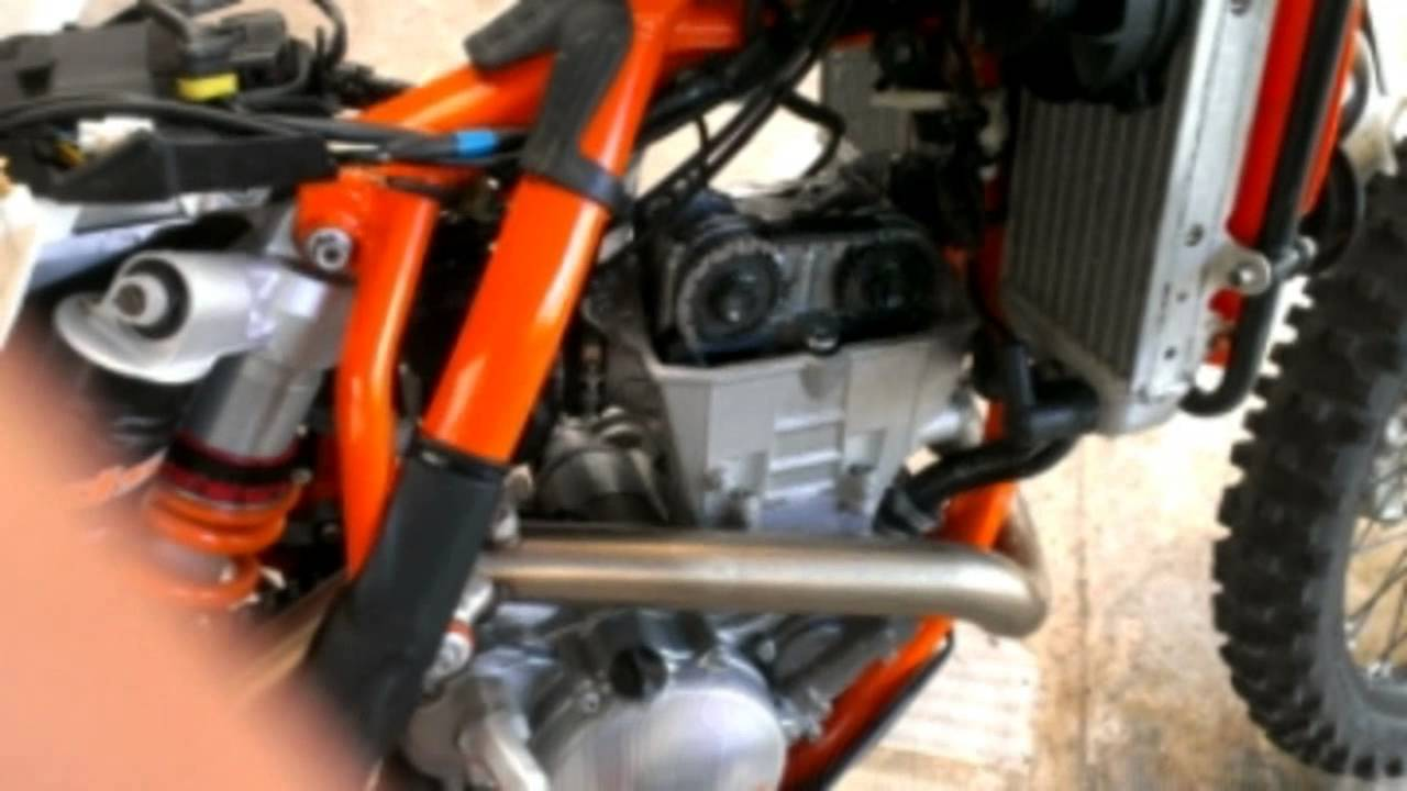 how to install a dirt tricks tensioner and do a valve clearance
