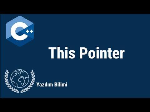 C++ Dersleri 44  - This Pointer