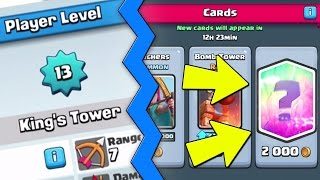 Clash Royale NEW UPDATE -  MAX LEVEL 13 & LEGENDARY CARDS IN SHOP!! Clash Royale Update News(Clash Royale New Max Level 13 King Tower / Cards & Legendary Cards in Shop!! Clash Royale New Update News! Clash Royale Level 13 Update News ..., 2016-04-27T17:17:10.000Z)