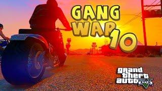 GTA 5 ONLINE - GANG WAR 10 SEASON 2 BIKER BOYZ | Bloods vs Crips