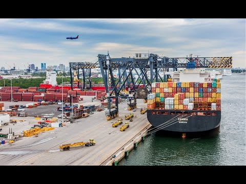 Port Everglades Cargo Video