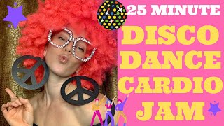 25 Minute Hilariously Awesome 70s Disco Cardio HIIT Dance Party