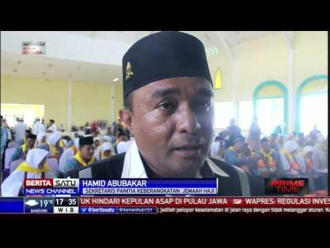 450 Jemaah Calon Haji Asal Ternate Menuju Emberkasi Makassar