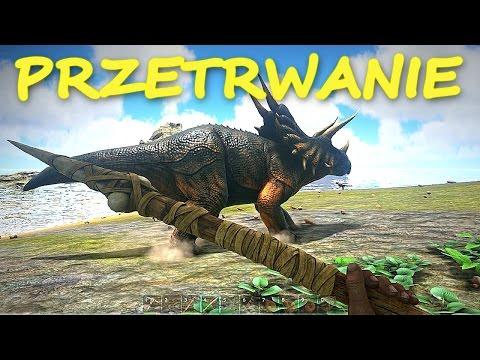 PRZETRWANIE - ARK: Survival Evolved #1 [gameplay pl, zagrajmy w ark] | Mervo