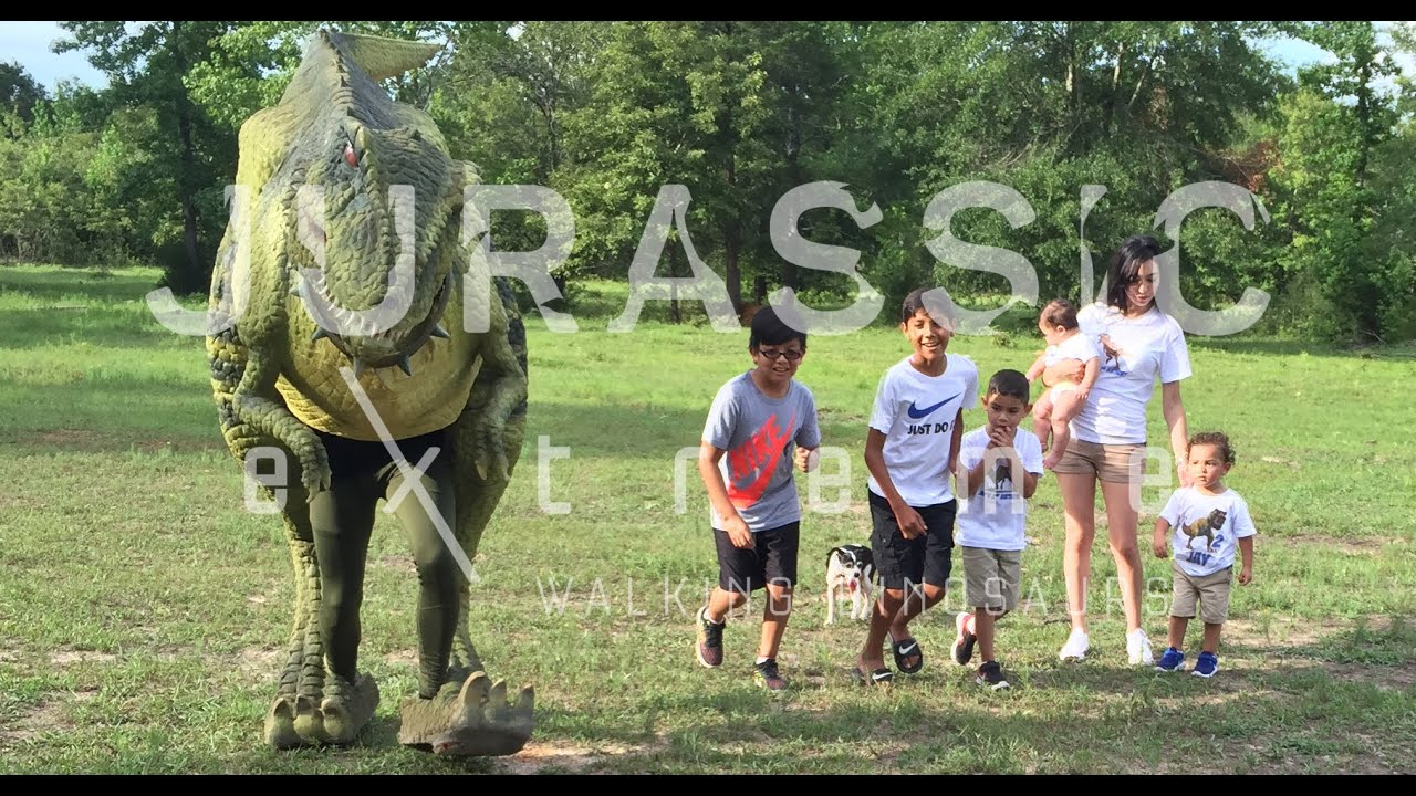 Jays 2nd Birthday Party with Jurassic Extreme Walking Dinosaurs