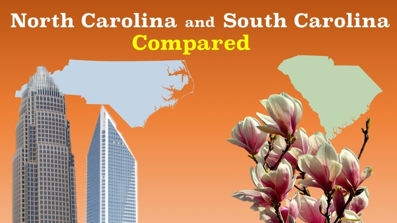 north carolina vs south carolina economy