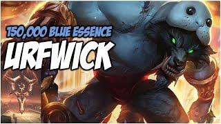 150,000 BLUE ESSENCE URFWICK - PreSeason 8 | League of Legends