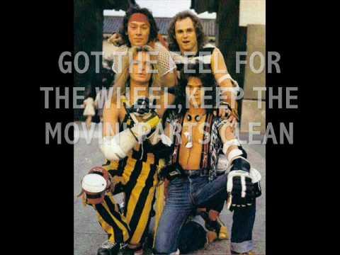 Van Halen-Panama Lyrics