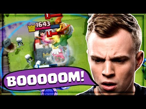 Clash Royale - MY BEST TORNADO EVER! Undefeated Deck