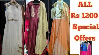#Sowcarpet Shopping Anarkali Collection Special Offer | Trendy Floor Length Anarkali Collections