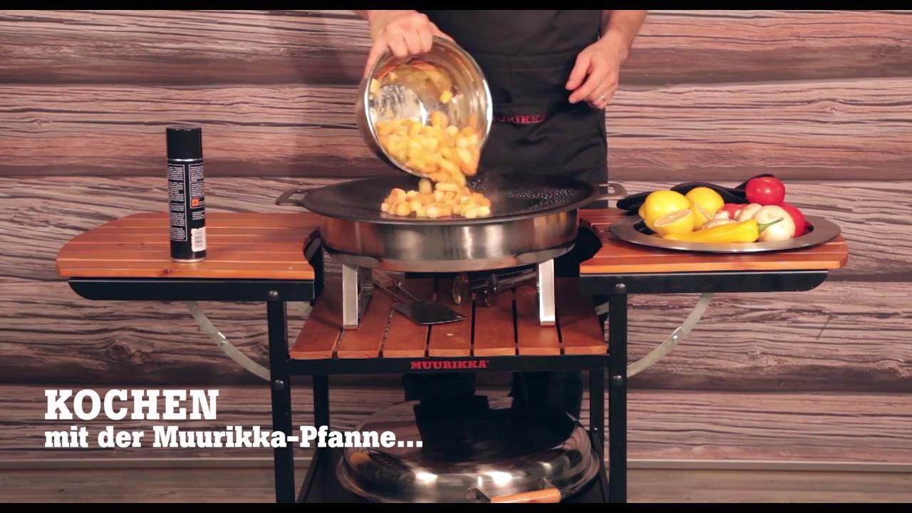 Outdoor Küche Elektro : Muurikka outdoorküche elektro inkl küchenwagen derofenfuchs
