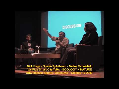 HiMY SYeD - VanPlay Smart City Talks, ECOLOGY+NATURE, UBC Robson Square, Vancouver, October 17 2017