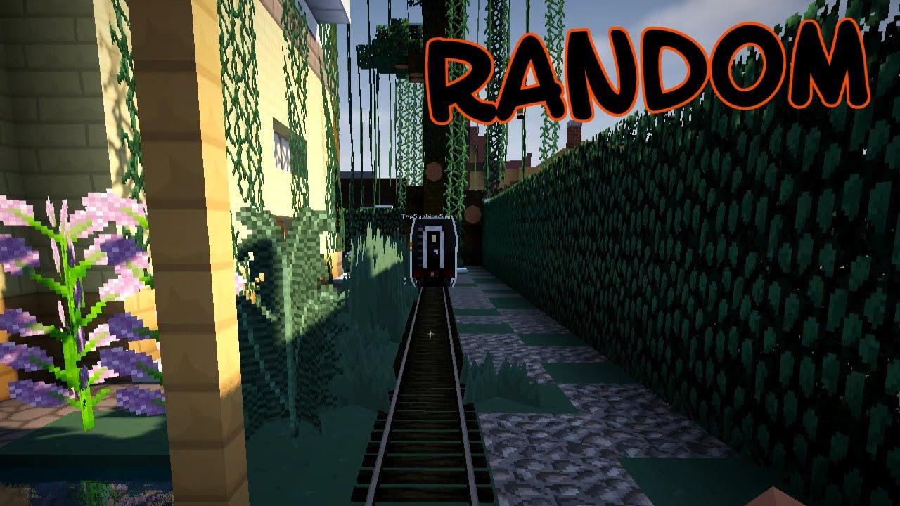 Fast vom Zug überfahren und Autounfall (zusammenschnitt) / Minecraft ...