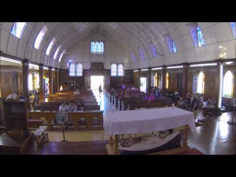 Timelapse:Misa iglesia Santa Barbara en Santa Rosalia en 32 segundos