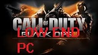 Call Of Duty Black Ops 2 Low end config (tutorial)