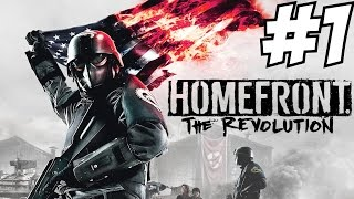 Homefront The Revolution Gameplay Walkthrough Part 1 Story Campaign  Let