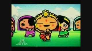 Pucca-Horray for Bollywood (funny love song) (english Version)