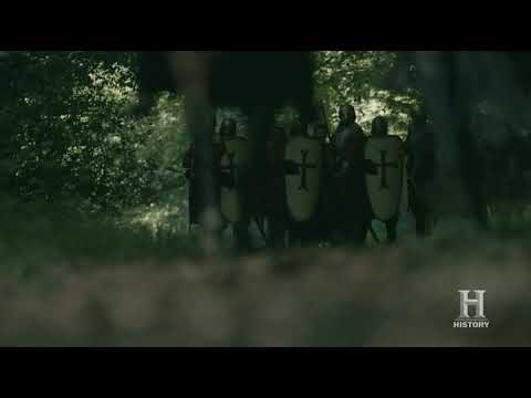 Vikings S05E02 - Aethelwulf army goes to Bishop Heamumd
