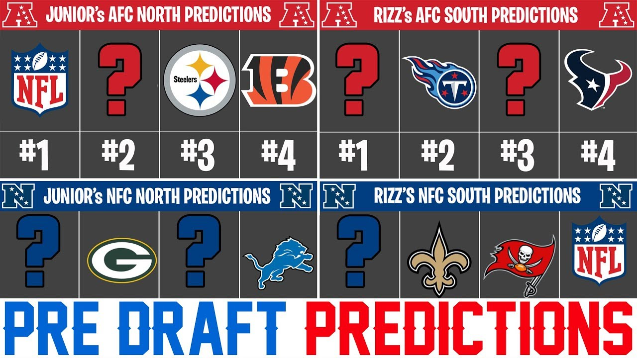 2019 NFL Season Predictions - NFL Predictions 2019 Post Free Agency (Pre  Draft)