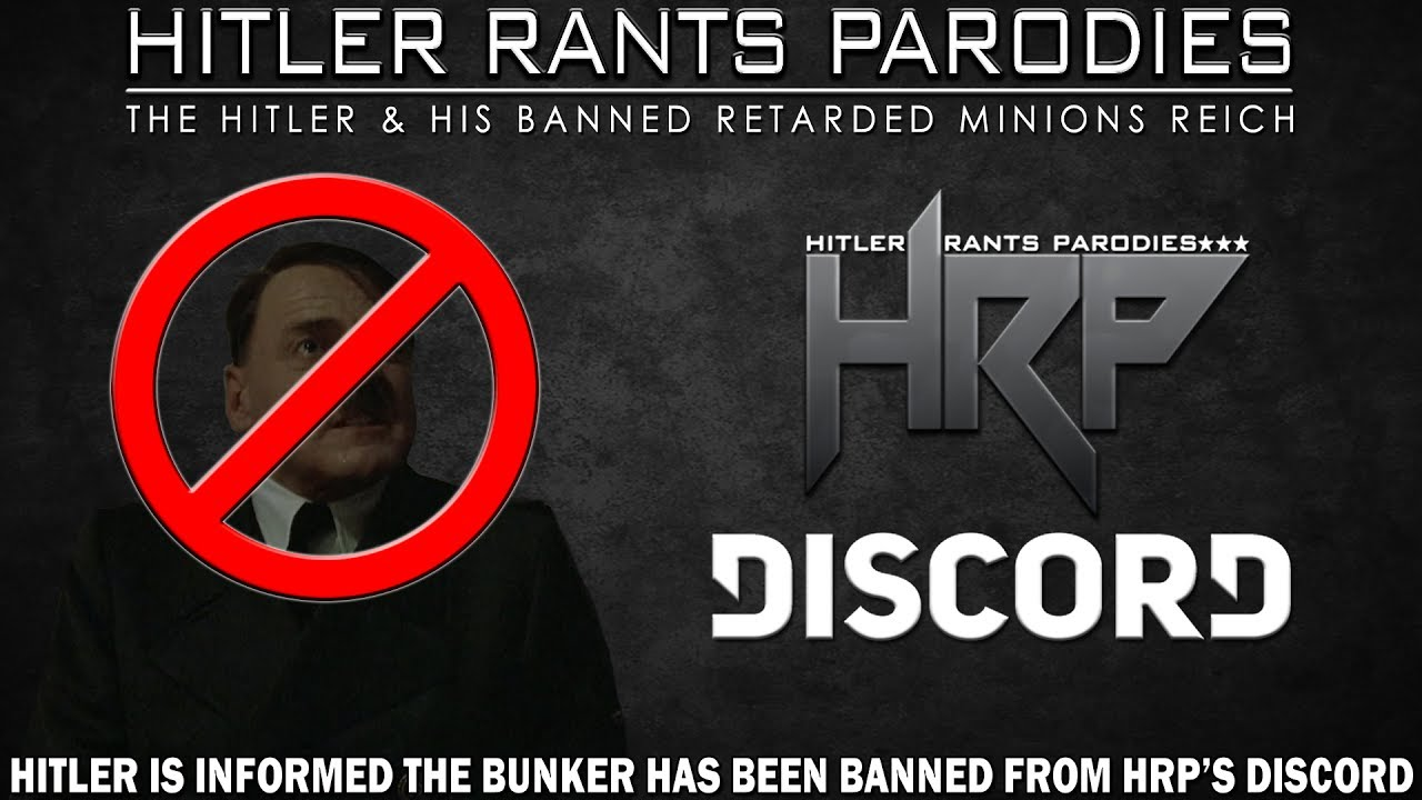 Hitler is informed the Bunker has been banned from HRP's Discord