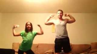 adorable daddy daughter dance off