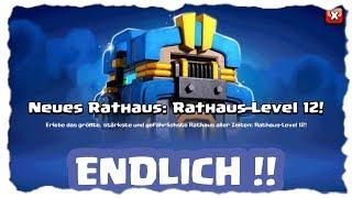 ENDLICH IST ES DA - RATHAUS 12 UND NETTE EVENTS!!! | Clash of Clans Deutsch | Let´s Play COC