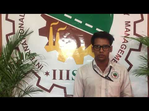 Mr, Siddharth Asthana  (Placed In ALSTOM)  ,IIISM ,Bangalore  Student Review