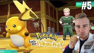 Odznaka Pioruna! (Pokemon Let's GO Pikachu ! odc. #5)