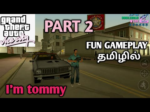 GTA VC gameplay in tamil part 2 (GAMING WITH TAMIL)