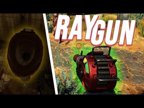 RAYGUN Bekommen! & Zombie-Song Easter Egg in Verrückt/Anstalt | Blackout: Black Ops 4