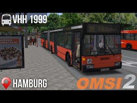OMSI 2 - Hamburg, Line 109, Hamburg Citybus VHH 1999 (Articulated)