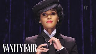 Janelle Monaé Ties a Windsor Knot While Impersonating a Puppy | Secret Talent Theatre | Vanity Fair
