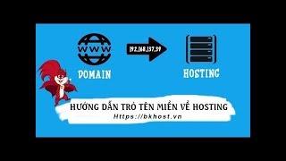 Hướng Dẫn Trỏ Domain ( tên miền ) về IP Hosting