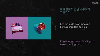 [3.15 MB] COOGIE 쿠기 - Wifey (Feat. Changmo 창모) lyrics (HAN/ROM/ENG)