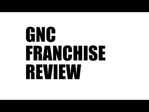 GNC Franchise Cost, Earnings and Review