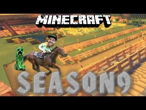 DIE PFERDERENNBAHN 🎮 Minecraft Season 9 #74