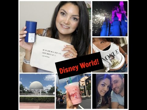 Disney World | Vlog, Haul & What Fit in my L.V. Palm Springs Mini!