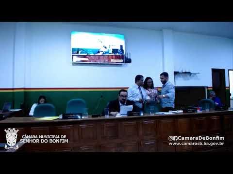 RESUMO DA SESSÃO ORDINÁRIA DA CÂMARA MUNICIPAL DE SENHOR DO BONFIM DESTA QUINTA-FEIRA