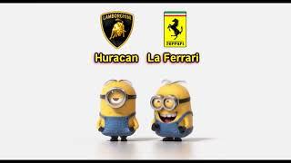 Lamborghini Huracan vs La Ferrari