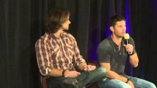 Supernatural Dallas Con 2012 J2 with Jensen and Jared Full length!