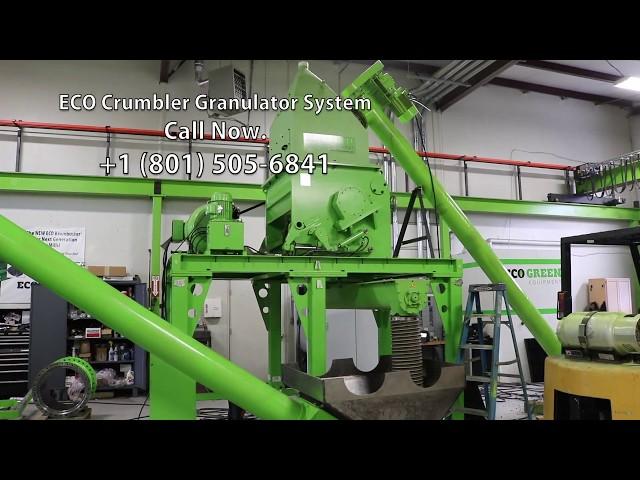 ECO Crumbler Granulator - 2017