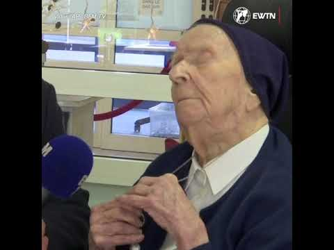 French nun beats COVID-19 ahead of her 117th birthday