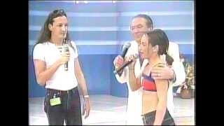 Alexia @ Raul Gil (1st) (Live in Brazil 1997) Uh La La La & Interview