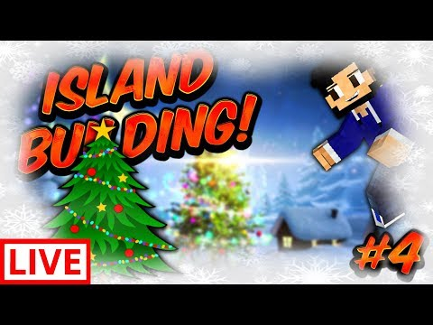 CHRISTMAS ISLAND BUILDS! | SKYBOUNDS #4 (Minecraft SKYBLOCK SMP Season 2)