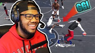 NBA 2k18 Playground - Snapping Ankles on The Playground! Grinding HOF Badges! Ep 7