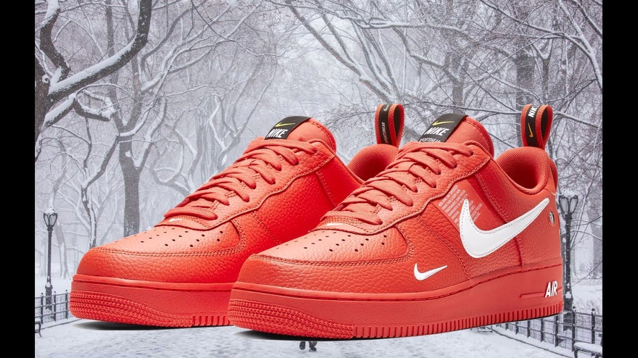 THESE AF1's R SOLD OUT EVERYWHERE!!! Nike Air Force 1 Utility REVIEWON FEET